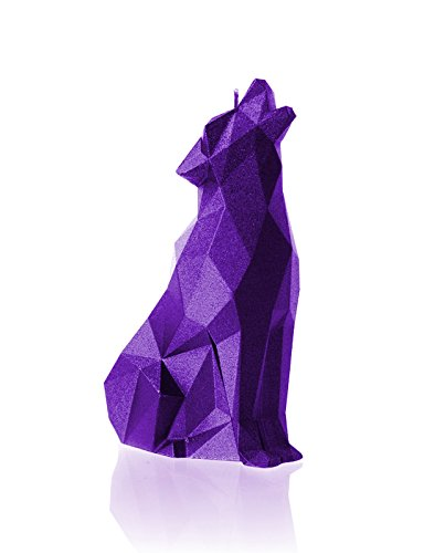 Purple Wolf - Candellana Candles Candellana-Wolf Candle, Violet Metallic