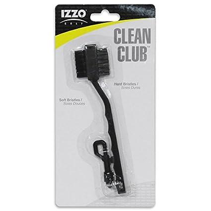 Amazon.com: Izzo Clean Club club de golf cepillo para polvo ...
