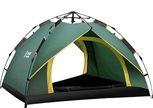 ベンチ素子体操選手BAJIAN キャンプテント 2人用テント ワンタッチテント 折りたたみ 簡易テント 二つドア 軽量防水 登山テント 高通気性 紫外線カット 防雨 防風 キャンプ用品 アウトドア