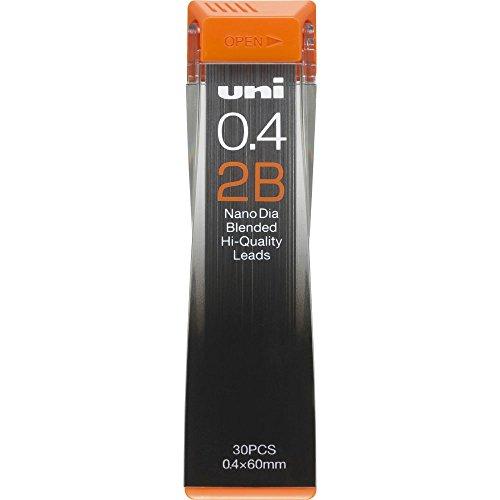 Uni NanoDia Mechanical Pencil 0.4 mm Lead, 2B (4902778030561)