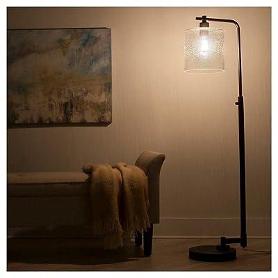 Hudson Industrial Floor Lamp - Ebony -ThresholdTM