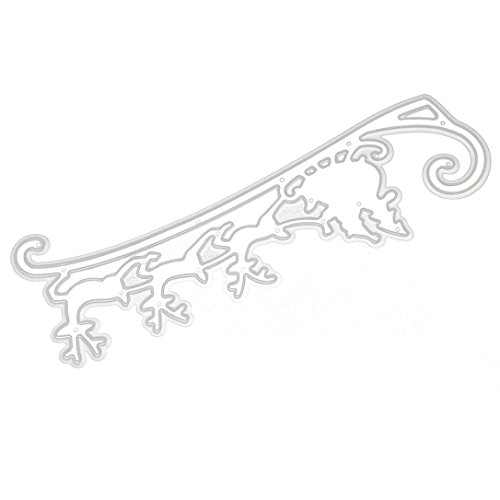 Merry Christmas Metal Cutting Dies Stencils Scrapbooking Embossing DIY Crafts by Topunder A]()