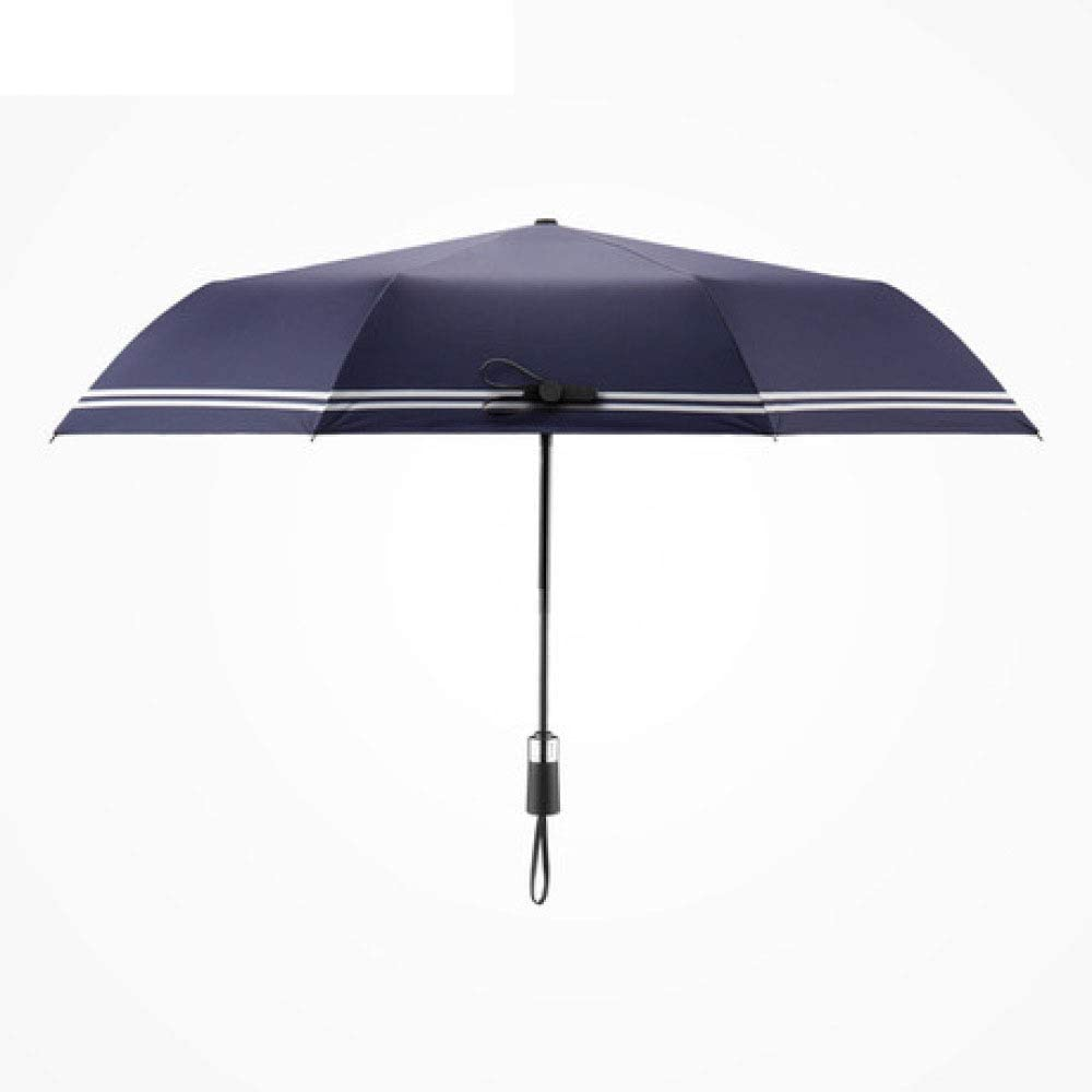 Myzixuan, Windproof Reinforced Frame Auto Open Close Rain Travel Umbrella Heavy Duty Teflon Coated Canopy Fast Drying Non Slip Handle and Ideal for Outdoor Easy Carry for Men and Ladies