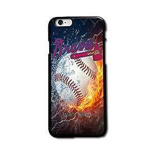 Bricolaje teléfono diseño personalizado siempre MLB Atlanta Braves Team carcasa para iPhone 6Plus 5,5funda