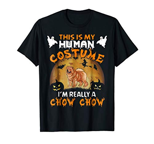 Chow Chow Halloween T-Shirt - This Is My Costume -