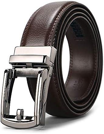 Meiruier Cinturón Cuero Hombre, Cinturón Para Hombres, Cinturones ...