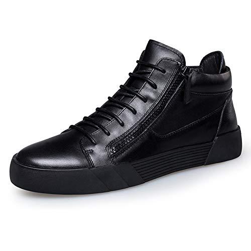 LOVDRAM Stiefel Männer Winterschuhe, Herrenmode Schuhe, Mode Kurze Stiefel, Geschäft Casual Schuhe, Warme Lederschuhe, Herrenschuhe