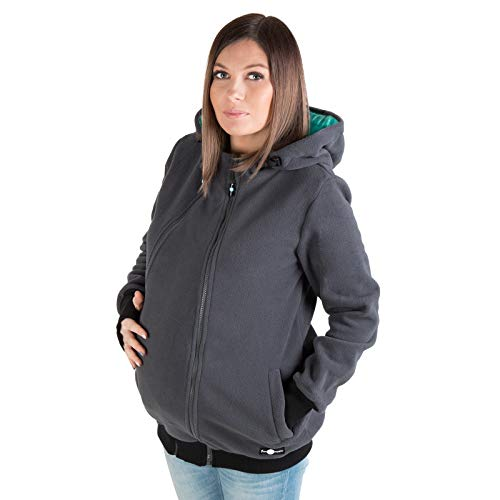 82099656661a9 3in1 Maternity Multifunctional Kangaroo Hoodie/jacket for MOM - Import It  All
