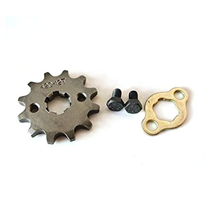 JRL 420 10T 20mm Drive Front Counter Sprocket Fit For ATV Pit Bike Lifan YX Loncin 125 140
