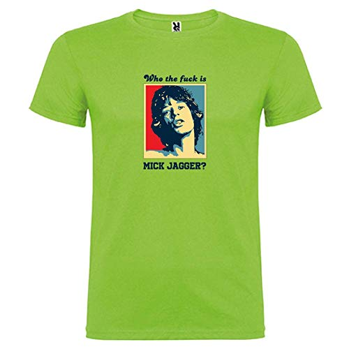 JaggerWho T Corta We Unisex Verde The Che Bikerella color Can Is Oasis shirt Manica Mick Yes By Fa 3LA5j4R