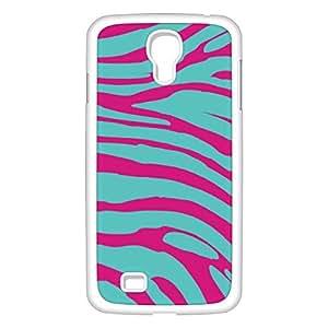 Coque zebre bleu rose GS4