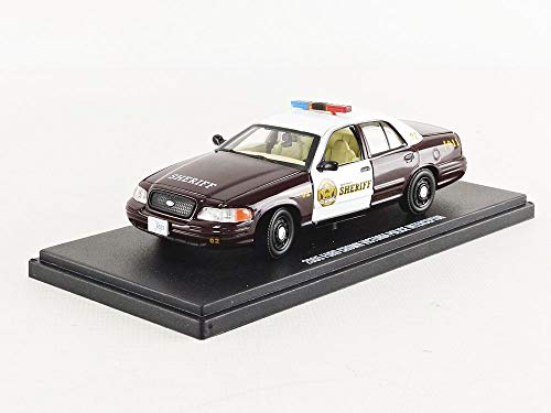 - Greenlight 86525 1: 43 Once Upon A Time (2011-Current TV Series) - Sheriff Graham's 2005 Ford Crown Victoria Police Interceptor Storybrooke, Multi