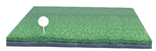 10'' x 24'' Golf Chipping Driving Range Practice Hitting Mat Holds A Wooden Tee by PREMIUM PRO TURF (Image #1)