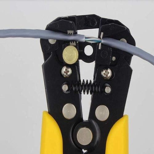 Yadianna ホームでの修理、屋外産業メンテナンス多機能新自動ストリッププライヤーセット(:イエローブラックカラー)に適し