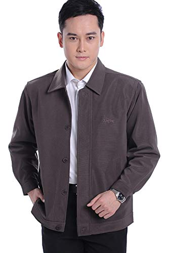 Jacket Outwear 02 KINDOYO Jacket Men's Style Sized Polyester Soft Coat Casual in Lapel Plus EwRqrnXRF
