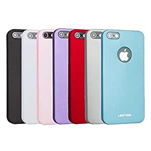 DUR Solid Color Slim Hard Back Case for iPhone 5/5S (Assorted Colors) , Red