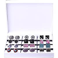 BodyJ4You Elegant Cufflink Gift Set Men's Cuff Links 12 Pack