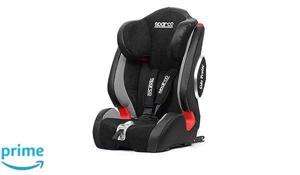 Sparco f1000kig123gr asiento niño negro: Amazon.es: Bebé