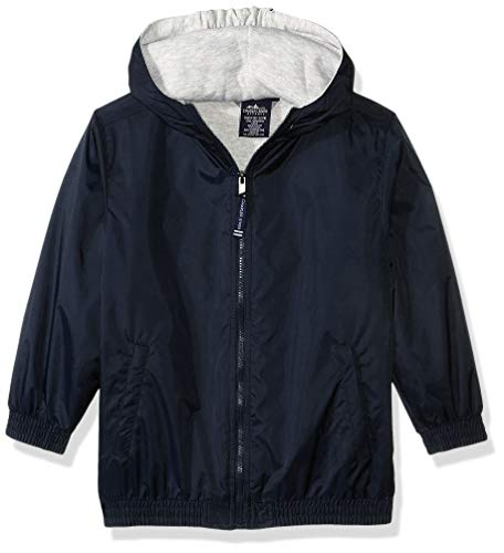 Kids Full Jacket Zip - Charles River Apparel Kids' Big Performer Heavyweight Full-Zip Jacket, Navy, XL