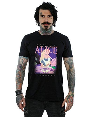 Disney Mens Alice in Wonderland Montage T-Shirt