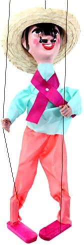 Mexican Puppet Marionette (Laborer)