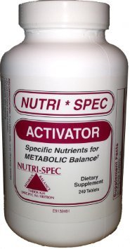 NUTRI-SPEC ACTIVATOR 240 TABLETS
