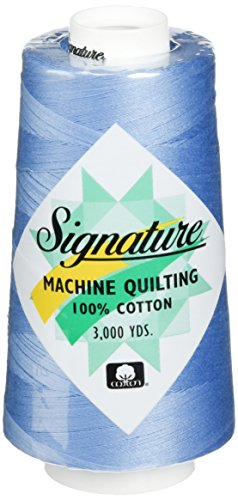 Signature Cotton Quilting Thread, 3000 yd, Solids Cobalt Blue