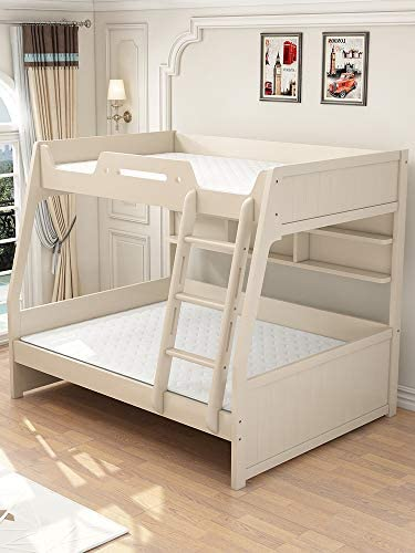 Bunk Bed high and Low Bed Mother and Child Bed bunk Bed Child and Mother Two Layers Adult Solid Wood Children's Bed bunk Bed