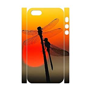 Customized Durable Case for Iphone 5,5S 3D, Dragonfly Phone Case - HL-R667986
