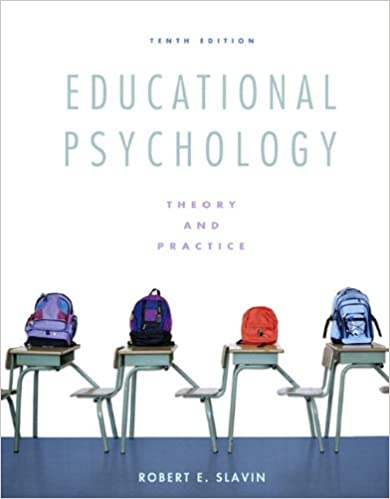 answers of educational psychology 8th edition by slavin