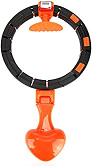 Counting Fitness Exercise Hula Hoop Yoga Waist Exercise Ring Adult Gymnastics Hula Hoop Muscle Trainer Weight