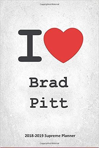 I Brad Pitt 2018 2019 Supreme Planner Brad Pitt On The Go