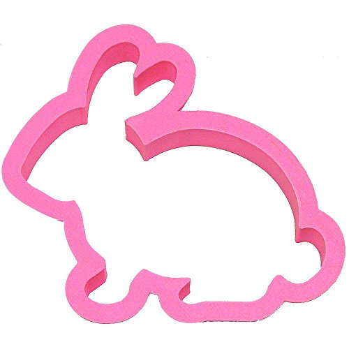 - Bunny Rabbit Cookie Cutter 4 in PC0428 - CookieCutterCom - USA Durable Plastic