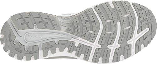 Brooks Damen Adrenaline GTS 18 Overpronation Stablility Laufschuh Weiß / Weiß / Grau