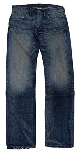 Ralph Lauren Double RL RRL Mens Denim Low Straight Selvedge Jean Pants USA 28/32 (Lauren Woven Jeans)