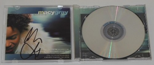 Macy Gray On How Life Is Hand Signed Autographed Music Cd Compact Disc - Vegas Las Macys