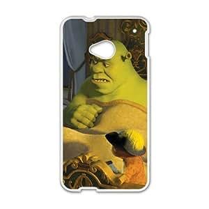 HTC One M7 phone case White Donkey PGD4530442