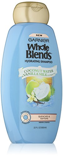 - Garnier Whole Blends Shampoo with Coconut Water & Vanilla Milk Extracts, 22 fl. oz.
