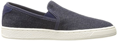 Cestino classico Slip on Denim Fashion Sneaker, Twilight Blue, 6.5 M US