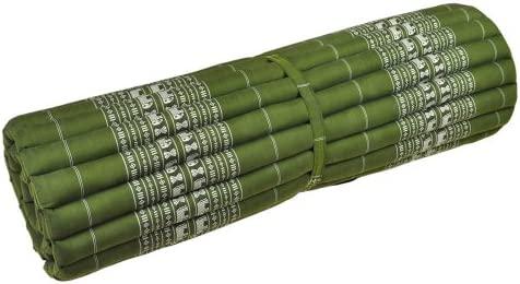 Wanthai Thai - Colchoneta Esterilla de Yoga, Roll, Verde ...