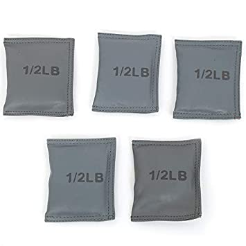 Fun and Function Vest Weights for Weighted Vests, Set of 5 1 2 lb. Weights