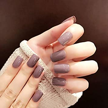 Acrylic Matte Square Nails