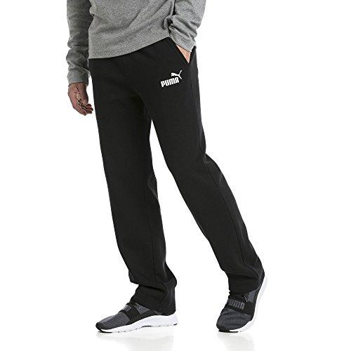 De Puma Pants Ess Black Op Sport Pantalon Fl Homme Logo qg47X