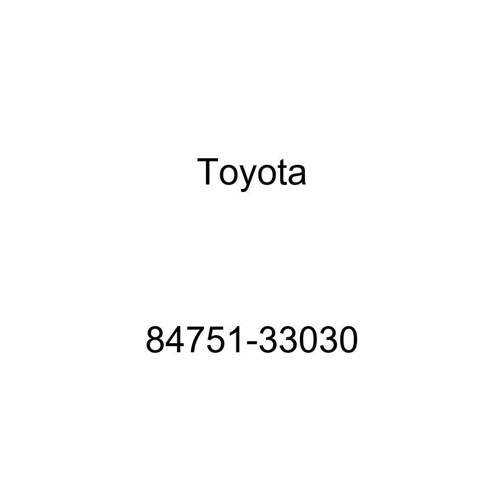 Toyota 84751-33030 Seat Heater Switch