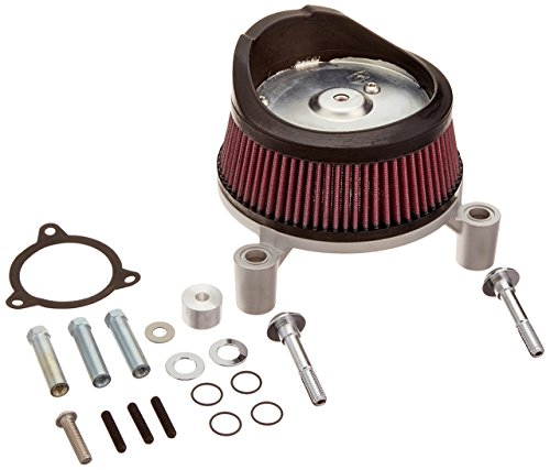 Arlen Ness 18-440 Plain Big Sucker Performance Air Filter Kit ()