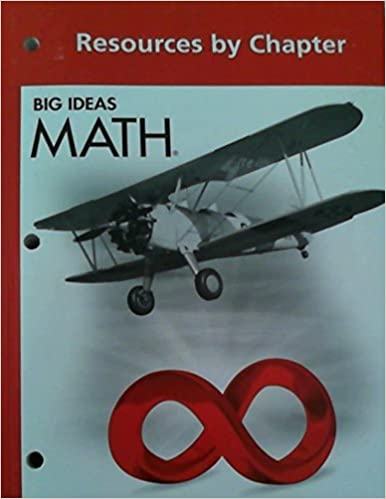 Big Ideas MATH: Common Core Resources by Chapter Red by HOLT MCDOUGAL (2013-04-01)
