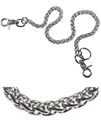 Ruth&Boaz Cable chain Stainless Steel Key Chain Wallet Chain (Stainless)