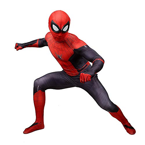 (DSFGHE Adult Children Spiderman F Clothing Cosplay One Piece Halloween Makeup Party Performance Party Movie Props)