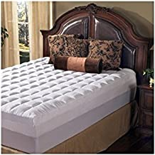 Grande Hotel Collection 4.5 Inch Memory Foam and Fiber Mattress Topper, Size King