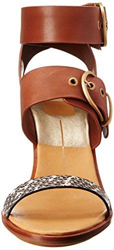 Dolce Vita Mujeres Julissa Wedge Sandal Brown / Multi